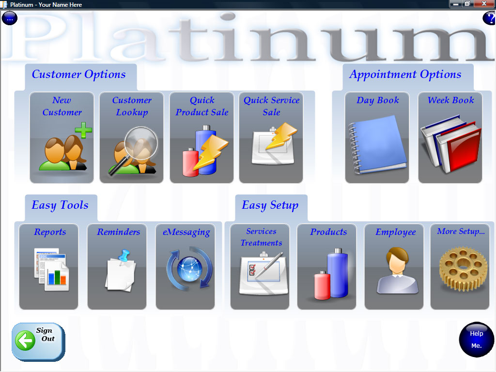 hairdressing salon software